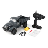 JJR/C 1:16 Remote Control Car 2.4G 6WD Tracked Off Road Military Truck RC Toys RTR Toys For Children Radio controlled Toys Q61