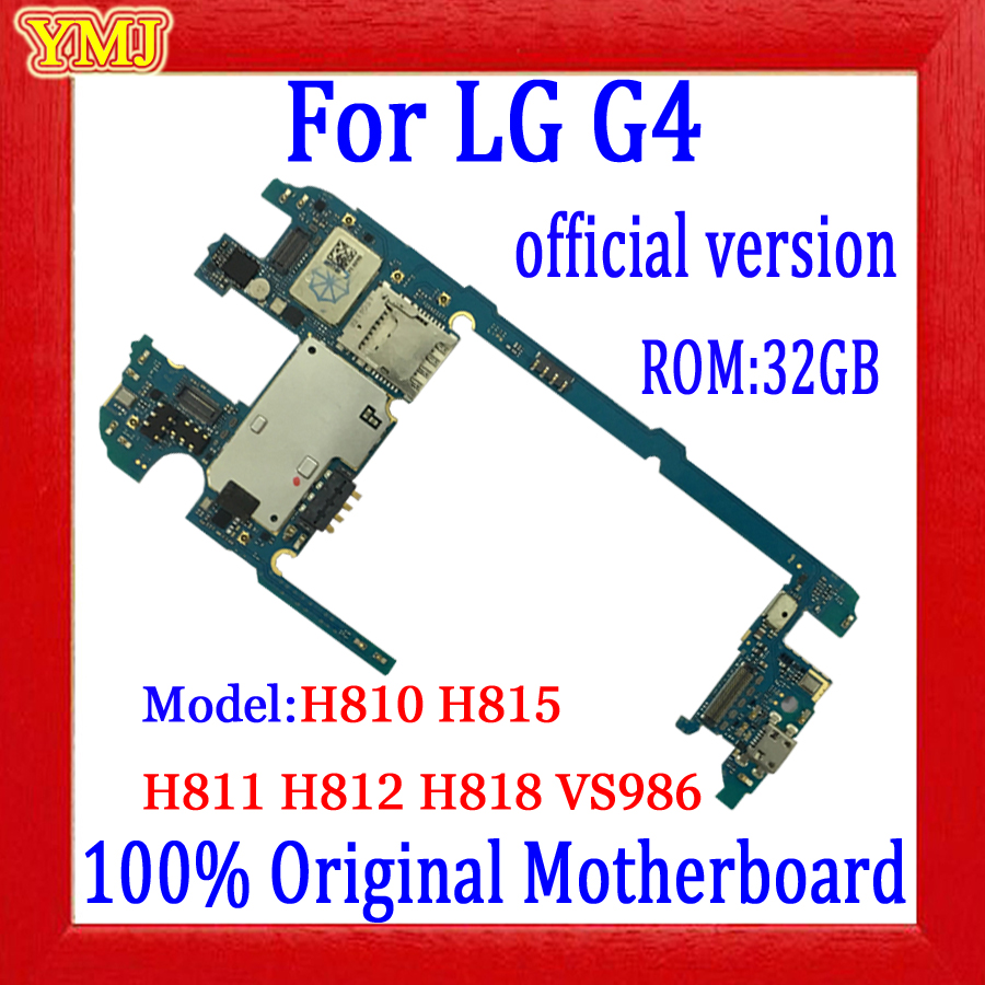 32GB For <font><b>LG</b></font> G4 <font><b>H815</b></font> H810 H811 H812 H818 VS986 <font><b>Motherboard</b></font>, with Android System Logic board ,With full chips 100% Tested image