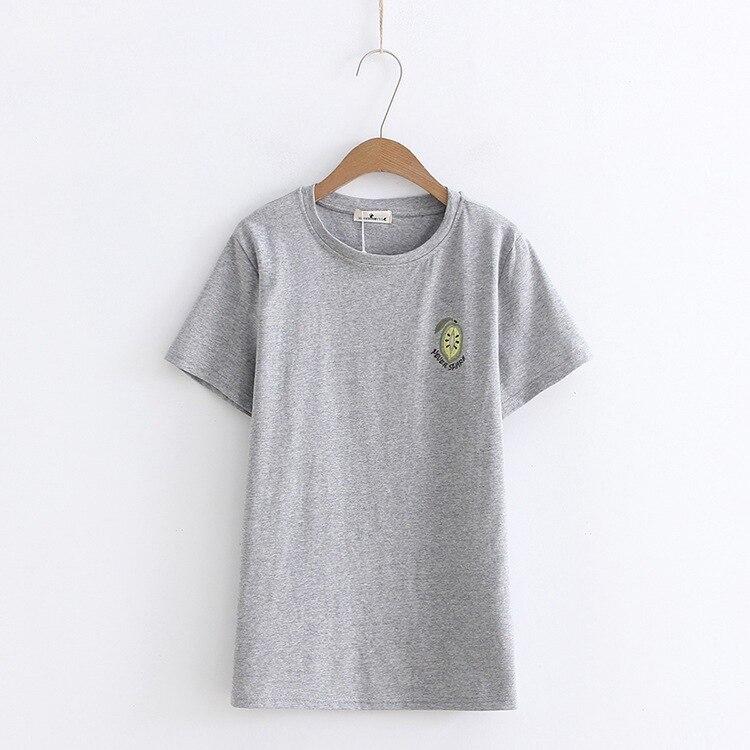 2018 Summer T-shirt Short Sleeve T Shirts Women Fashion T-shirt O-Neck