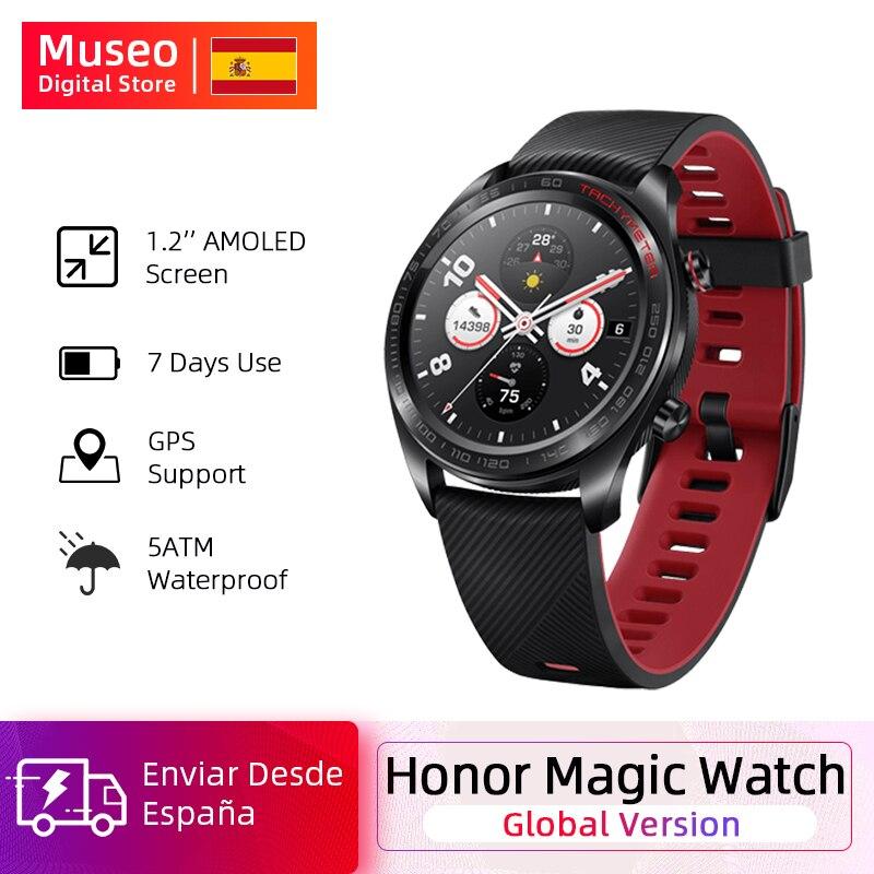Global Version Honor Magic Watch SmartWatch Heart Rate Tracker Waterproof Sleep Tracker GPS WorkingPhone Call