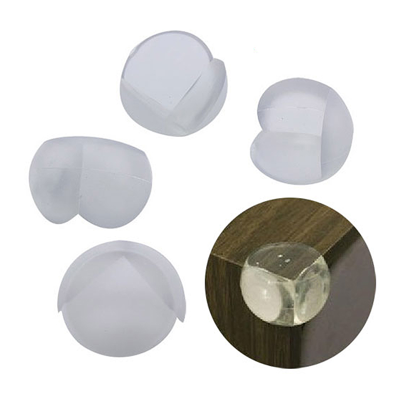 New Hot 10pcs Table Corner Edge Protection Cover Child Baby Safe Silicone Protector  SMD66