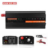 Inverter 12V 220V 1500W DC12V/24V/48V To AC220V Voltage transformer  Pure Sine Wave For Inverter Household DIY for car truck