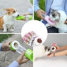 Портативная миска для собак и кошек, бутылка для воды для собак, для путешествий, для щенков, кошек, для питья, миска для собак, для улицы, диспенсер для воды, кормушка для домашних животных
