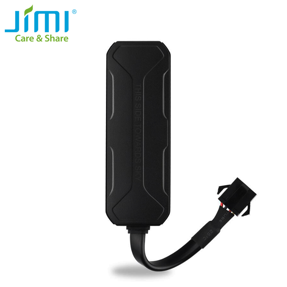 Jimi ET25 Mini Car GPS Tracker With Battery Wide Voltage Real-time GPS+LBS Tracking Remote Cut-off For Vehicle Fleet Management