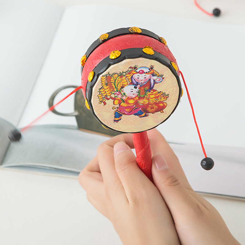Baby Toys Rattle Baby Toys Shou Yao Gu 0-1-Year-Old CHILDREN'S Toy