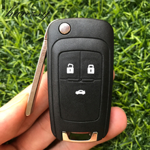 3 Buttons Remote Car Key housing Shell For Chevrolet Cruze 2010 2012 2011 2014 Camaro Impala Aveo Epica Flip Folding Key Case