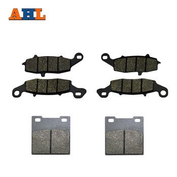 Motorcycle Front and Rear Brake Pad For Suzuki GSX 600F 98-06 GSX 750F 98-06 GSF600 Bandit 600 00-04 SV650 99-02 image