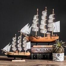 С LED светильник Карибского моря черный жемчуг Corsair парусных лодок деревянная модель парусника аксессуары для украшения дома для гостиной