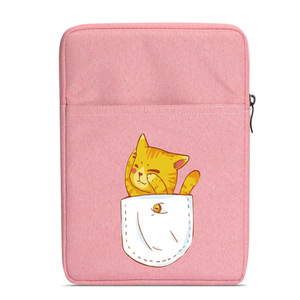 cute print Zipper Sleeve Bag Case For tolino vision shine 2 3 4 HD 6'' ereader sleeve(China)