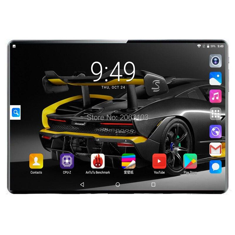 2020 супер планшет, 128G, глобальный Bluetooth, Wifi, Android 9,0, 10 дюймов, планшет, 10 ядер, 8 Гб ram, 128 ГБ rom, 2.5D экран, планшеты, фаблет
