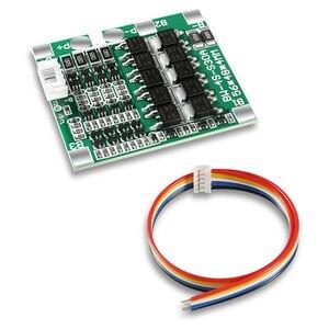 4S 30A 14,8 V 18650 литиевая батарея плата защиты BMS интегрированные схемы с балансировкой 4S 30A защита с кабелем
