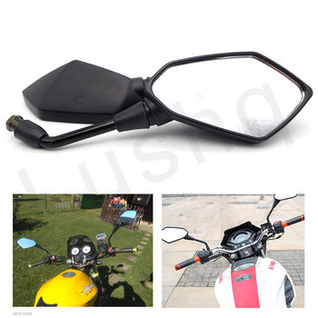 Universal Motorcycl Handle Bar End Rearview mirror 7/8 for yamaha dt super zings bmw k1200s bmw f650gs cf moto 500 vespa image