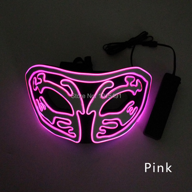 новое поступление светящаяся маска из эва со светодиодной подсветкой фотография