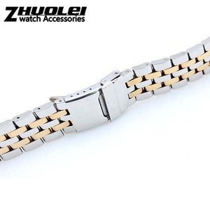 Image 2 - 22mm 24mm High Quality Solid Stainless Steel Watch Bracelet for mens  Breitling watch band