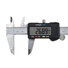 Stainless Steel Digital Display Caliper 150mm Messschieber Paquimetro Measuring Instrument Vernier Calipers Tools