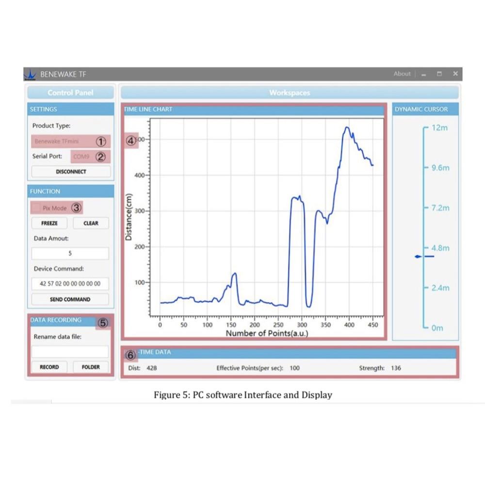 TF-Luna Range Finder Sensor tfmini  (5)