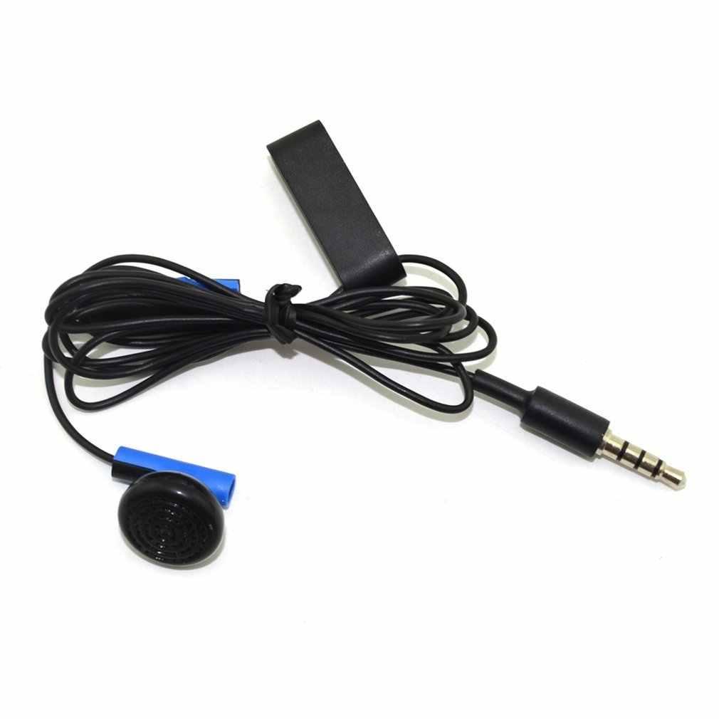 الألعاب سماعة جهاز التحكم في عصا التحكم سماعة استبدال لسوني ل PS4 ل بلاي ستيشن 4 مع هيئة التصنيع العسكري مع سماعة الأذن كليب