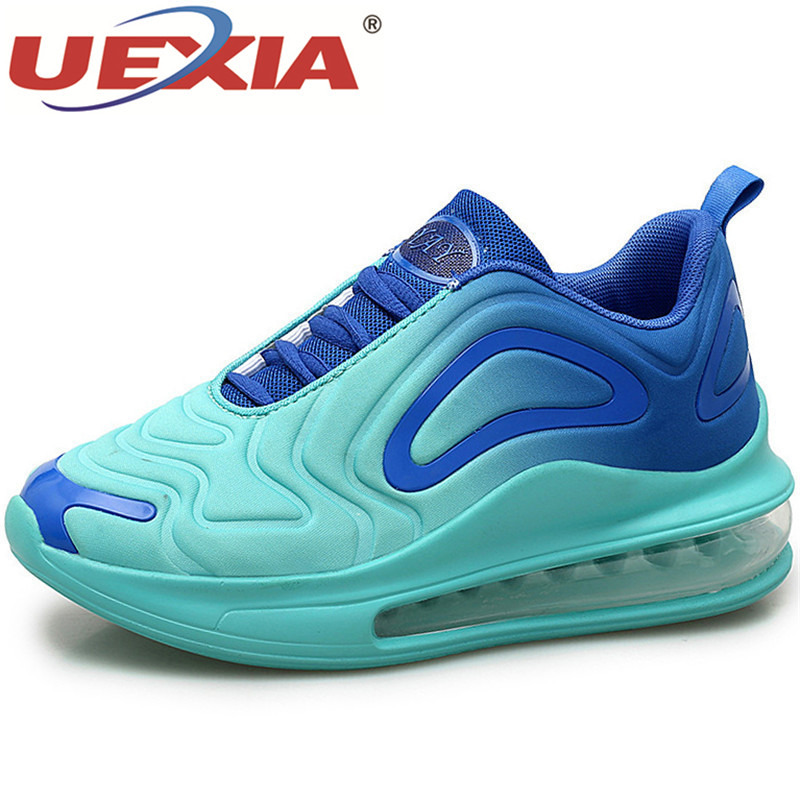 UEXIA couleur mate Couples en plein Air chaussures décontractées mode mixte couleur Sneaker homme pour homme confortable unisexe qualité coussin d'air