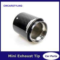 1 PCS 3K Carbon Top Quality Exhaust Muffler Tips for MINI Cooper S R55 R56 R57 R58 R59 R60 R61 F54 F56 F57 F60