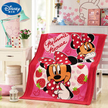 Disney Mickey Minnie mouse Blankets Holiday blanket 70x140CM Girls Boys Childrens Kids Bed Home Bedroom Decoration Flannel