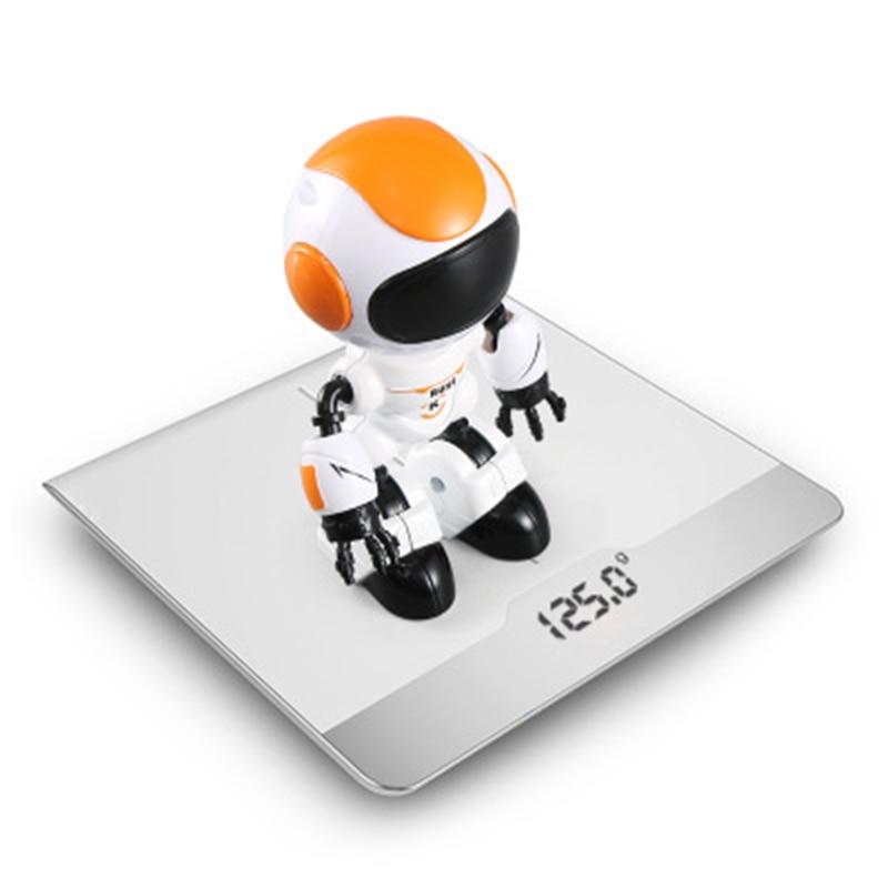 Intelligent robot early education toys touch-sensitive LED lighting effect desktop electronic pet children's educational toys
