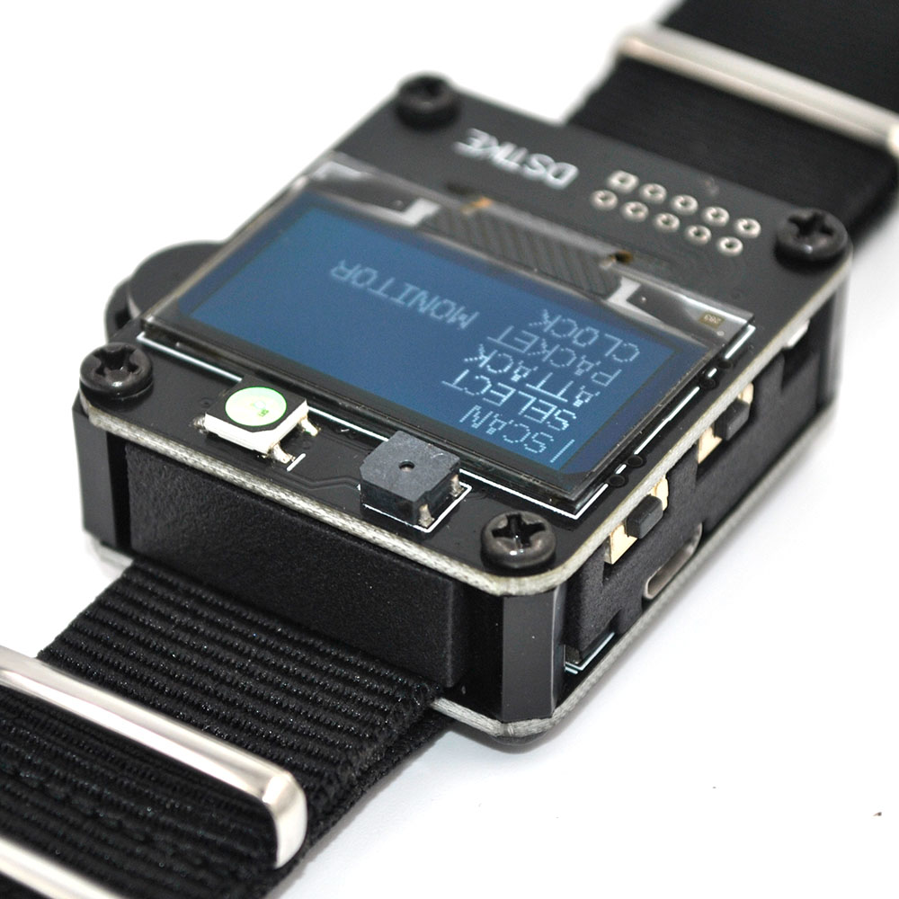 DSTIKE WiFi Deauther Watch ESP8266 Development Board | Smart Watch DevKit | Arduino NodeMCU ESP32 IoT I2-002-004-005