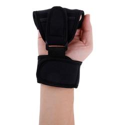 Chaud 1PC main poing doigt gants efficace auxiliaire fixe gants rééducation outil d'entraînement pour avc hémiplégie Patient