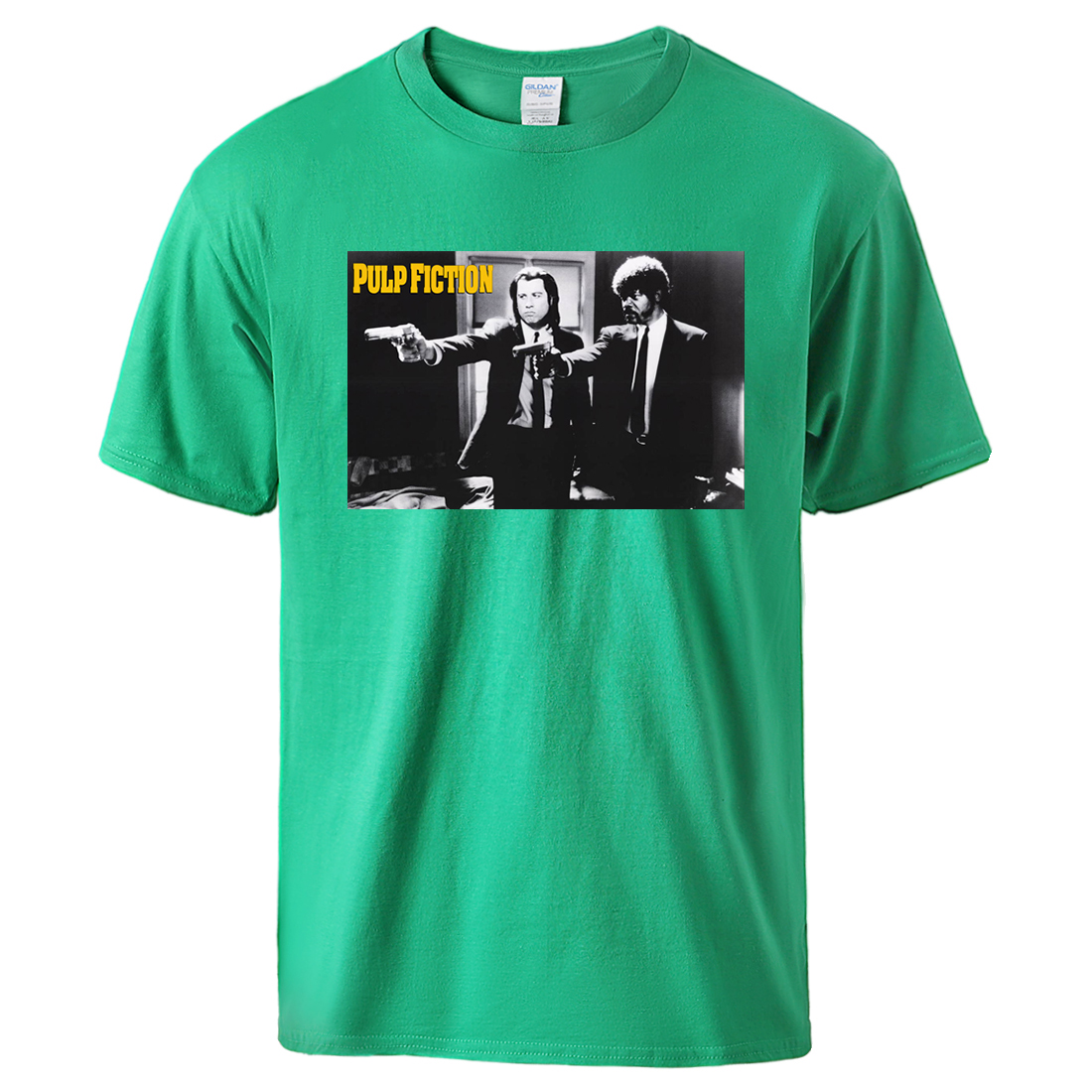 2020 Pulp Fiction Retro T Shirts Summer Casual Cotton Sportswear Male High Quality Short Sleeve Tee Tshirts Fashion Cool Tops