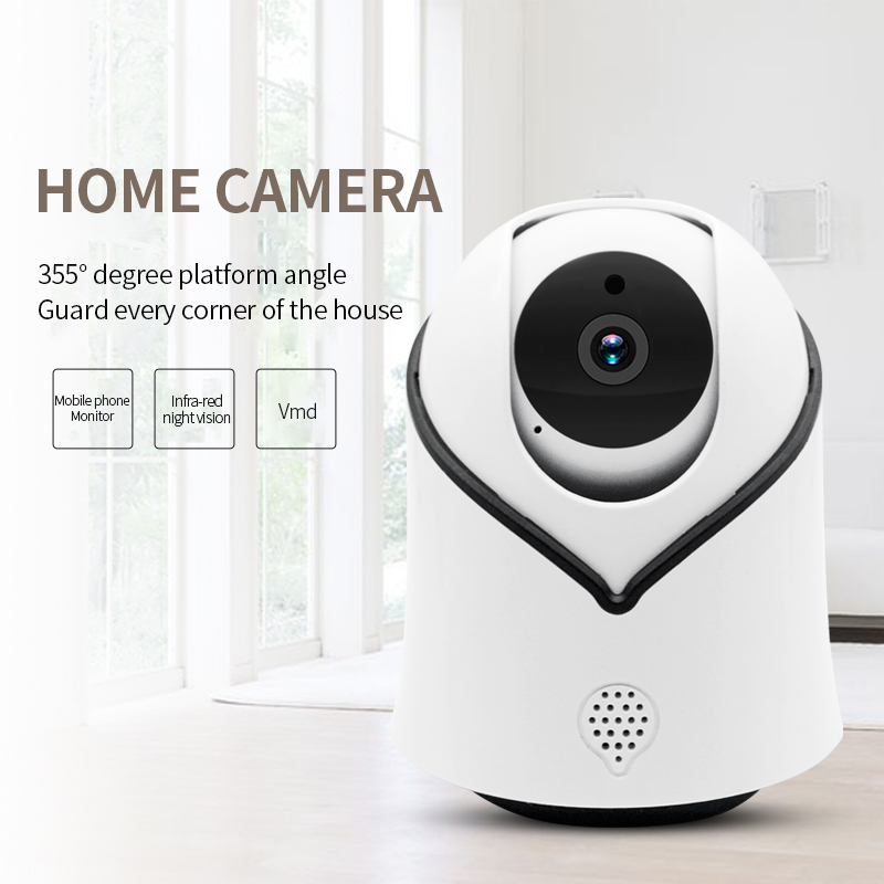 Cute Y10 PTZ Wireless IP Camera 720/1080P Infrared Night Vision Voice Call Home Security Surveillance WiFi Camera Support 128G