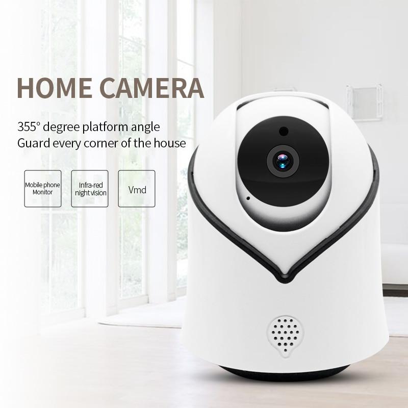 Cute Y10 PTZ Wireless IP Camera 720 1080P Infrared Night Vision Voice Call Home Security Surveillance Innrech Market.com