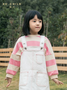 Image 3 - KC.Child 2020SS Latest Childrens T shirt Kids Striped  Long Sleeve Loose T shirt Babys soft T shirt Casual Style Age 2 13Y