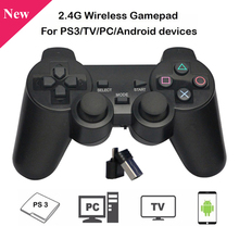 2.4G Wireless Gamepad Black Game Controller Joystick for PC Laptop Android Devic