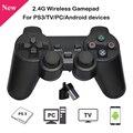 2.4g sem fio gamepad preto controlador de jogo joystick para computador portátil dispositivos android para raspberry pi 4b 3b b +