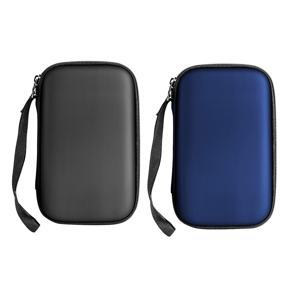 """2.5"""" HDD Case Protect Bag Box for Seagate Samsung WD Hard Drive Power Bank USB Cable Charger External Hard Disk Pouch Case"""