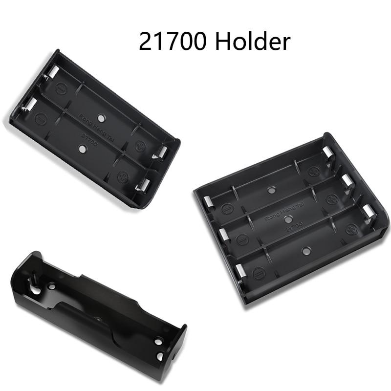 21700 caixa de armazenamento da bateria caso 21700 titular power bank caso 1p 2p 3p 4p diy power wall slot baterias recipiente com pino rígido