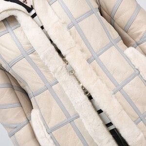Image 5 - Hình Thật 2019 Cừu Cắt Lông Thu Đông Nữ Cao Cấp Ấm Áo Khoác Da Nữ Áo Vest Thời Trang Mới Da Cừu Áo Vest Áo Khoác