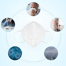 Disposable Respirator N95 Surgical Masks 3-Layer Face Masks 95% Medical Mask Breathable & Comfortable Dust Mask