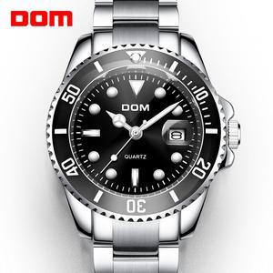Image 1 - 2019 Top Brand Luxury Mens Watch 30m Waterproof Date Clock Male Sports Watches Men Quartz Casual Wrist Watch Relogio Masculino