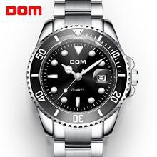 Montre bracelet de sport pour hommes, de luxe, horloge 30m, Date étanche, à Quartz, 2019, montre pour hommes