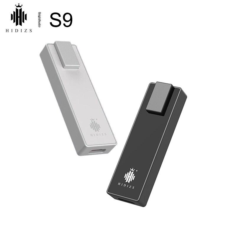 Hidizs S9 AK4493EQ сбалансированный USB DAC Декодер Усилитель для наушников AMP DSD512 PCM 32 бит 768 кГц 2,5/3,5 мм выходы 125 МВт