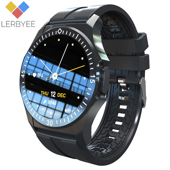 Lerbyee Smart Watch TW6 Body Temperature Multiple Sport Modes Fitness Watch Heart Rate Monitor Men Smartwatch New for Running