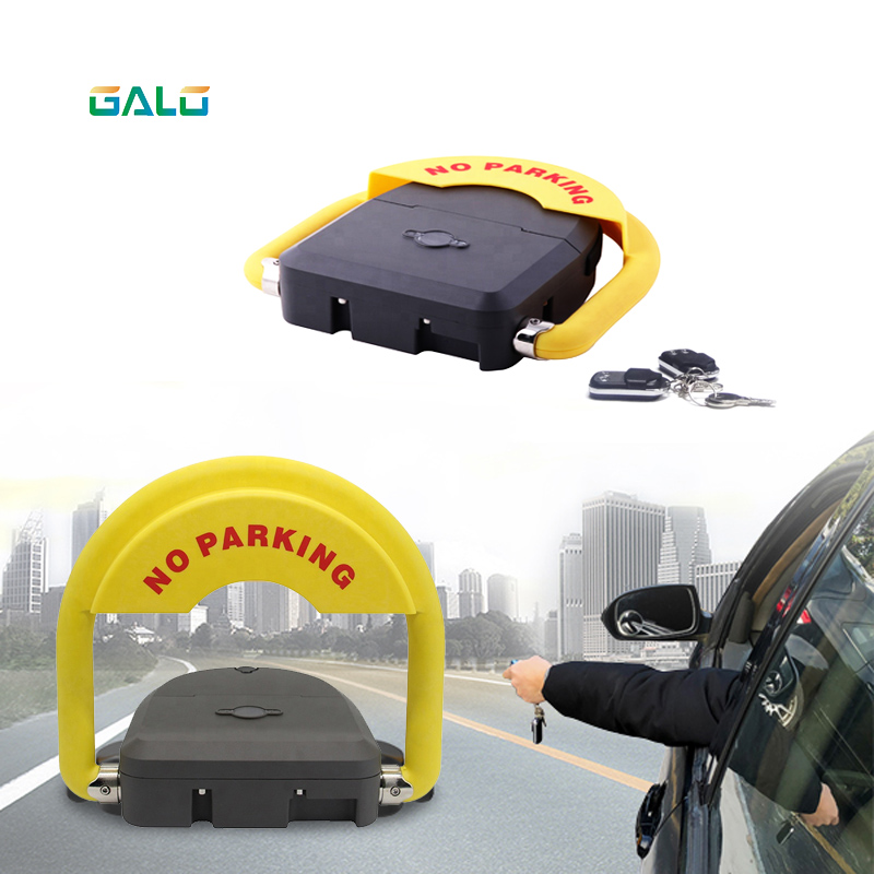 Outdoor Waterproof Remote Control Battery Powered Parking Barriers/parking Lot Locks