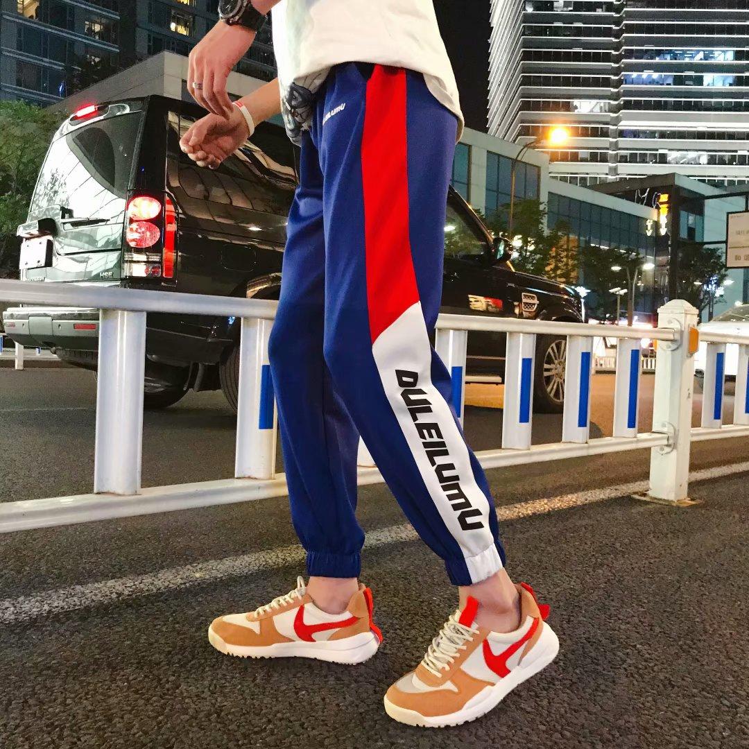 HipHop Pants Men's Loose-Fit European And American Streets Cool Casual Beam Leg Korean-style Trend Skinny Sports Xi Ha Ku Men's