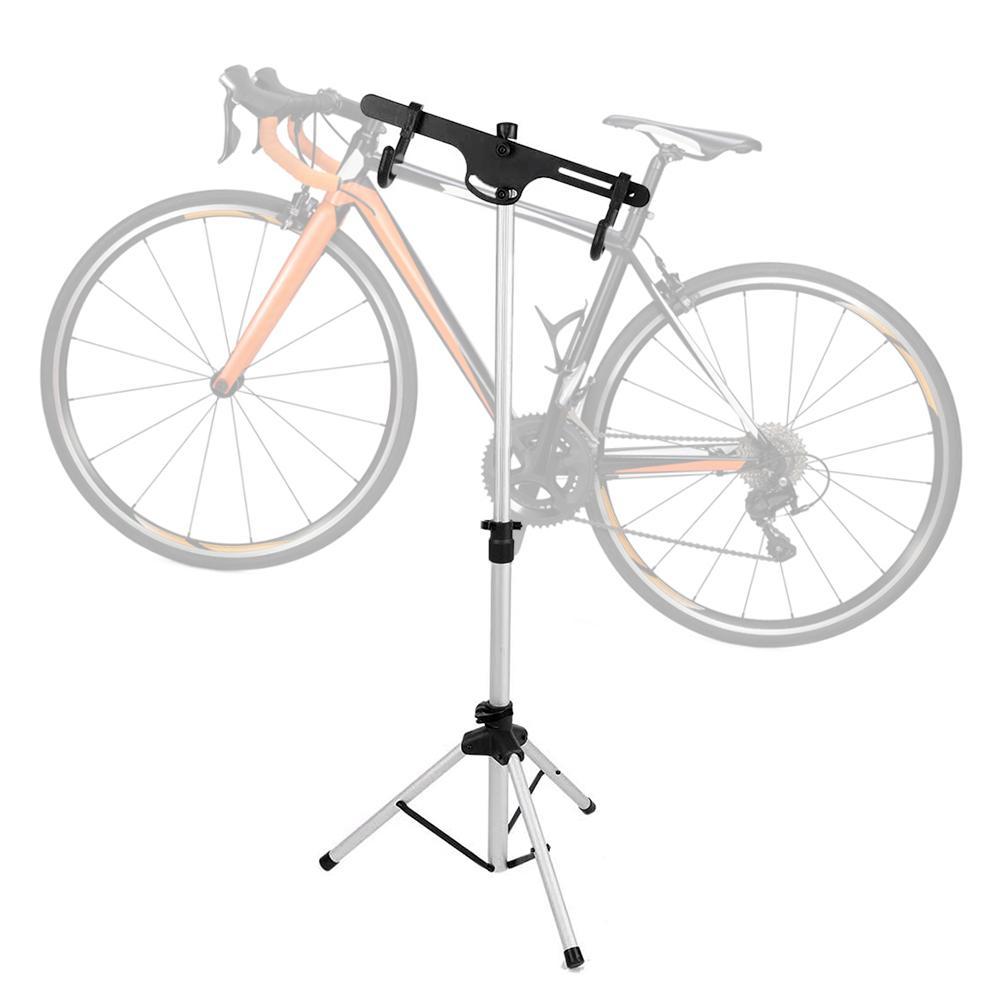 자전거 작업 스탠드 전문 자전거 수리 도구 조절 접이식 알루미늄 합금 자전거 랙 홀더 스토리지 자전거 수리 스탠드