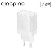 Qingping – passerelle WiFi intelligente, dispositif de liaison, pour la maison, contrôle, Compatible avec Bluetooth, fonctionne avec lapplication Mijia, prise ue