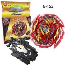 Bay blade B-155 girando superior arena brinquedos explosão starter mestre diabolos gn com lançador de fusão metal giroscópio brinquedos para crianças