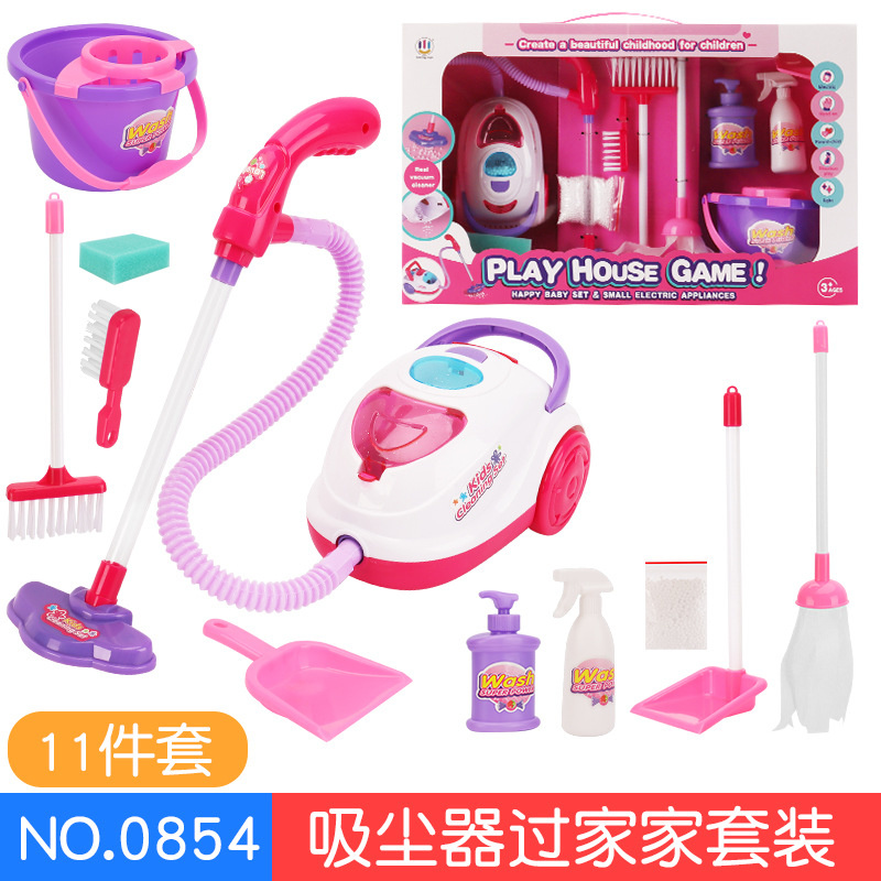 de móveis educativos jogar ferramentas de limpeza da casa