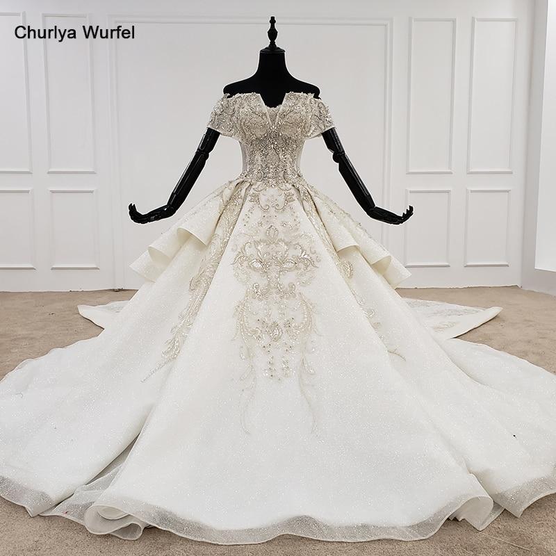 HTL1119 luxury wedding dress boho off shoulder special neck bead detachable wedding gowns 2020 new fashion design hot trouwjurk