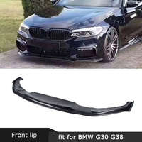 For BMW 5 Series G30 G31 G38 M Sport 2017 2018 2019 Front Lip Spoiler Carbon Fiber / FRP HM Style Head Bumper Trim Guard