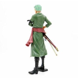 Image 5 - Un Pezzo Grandista Roronoa Zoro Action Figure 1/6 scala dipinte figura Il Grand Uomini di Linea Sanji PVC figure Giocattoli Brinquedos